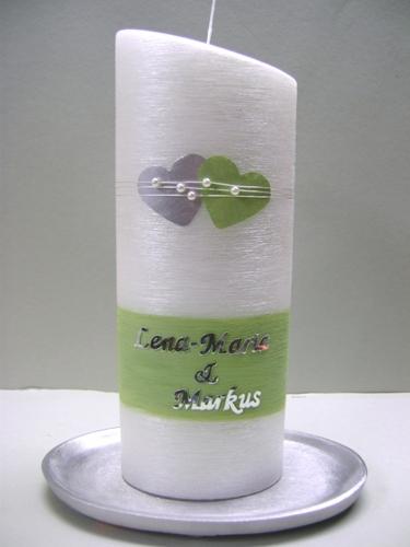 Hochzeitskerze 340 - Kerzenshop Friebe